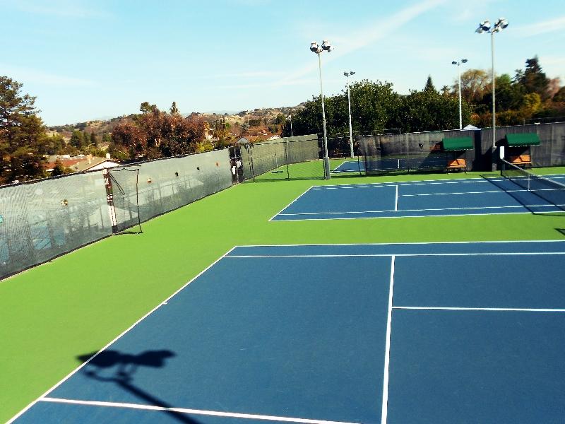 Usta Approved Tennis Courts Almaden Swim Racquet Club San Jose